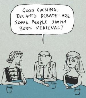 Berger & Wyse on debating – cartoon