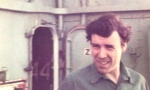 Joe Ousalice when he was serving in the navy.