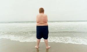 An overweight child.