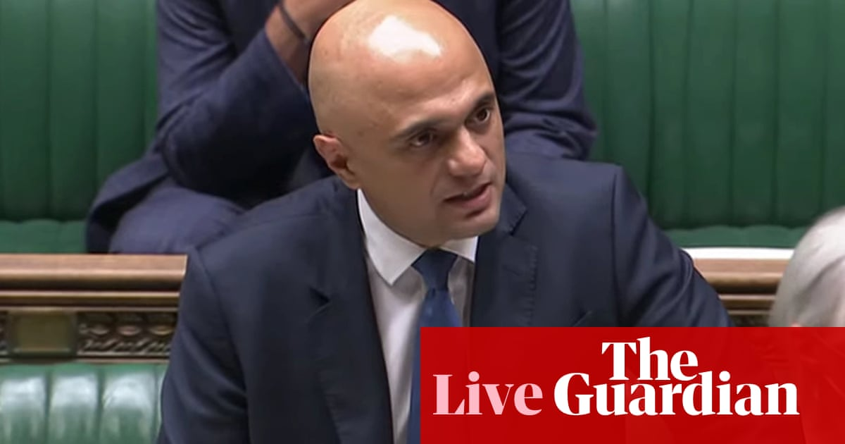 UK Covid live: Javid unveils winter contingency 'plan B' – including vaccine passports and compulsory masks