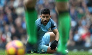 Sergio Agüero returns for Manchester City against Liverpool following a four-match suspension