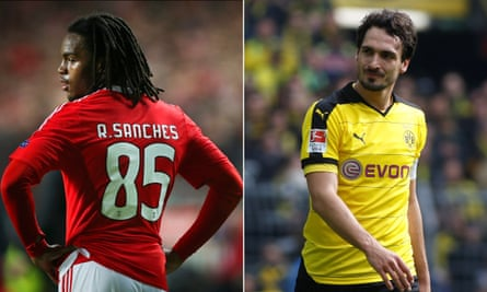 Bayern Munich have signed Benfica's Renato Sanches, left, and Borussia Dortmund's Mats Hummels on five-year deals.