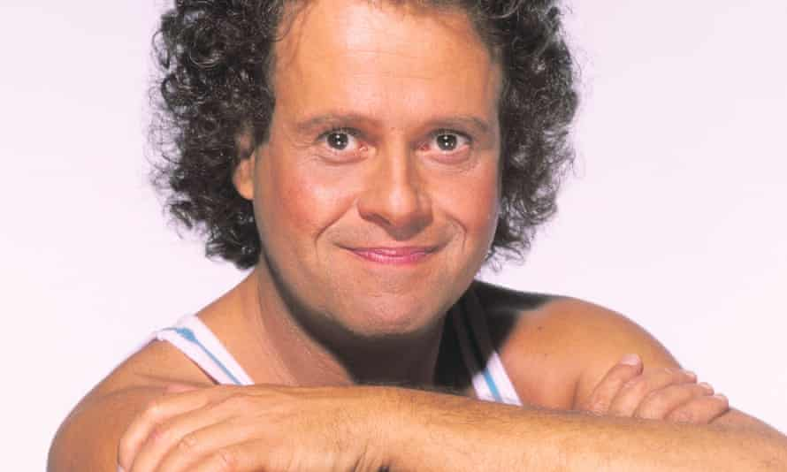 Welcoming everyone to his Beverly Hills exercise studio … Richard Simmons.