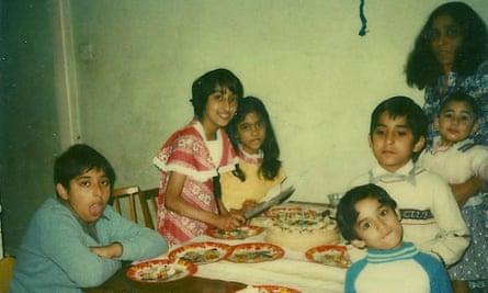 Family Polaroid for Shazia Mirza's opinion piece