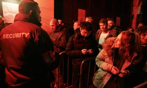 Queues for London's Fabric, which reopened last year after a review into the drug-related deaths of two people.