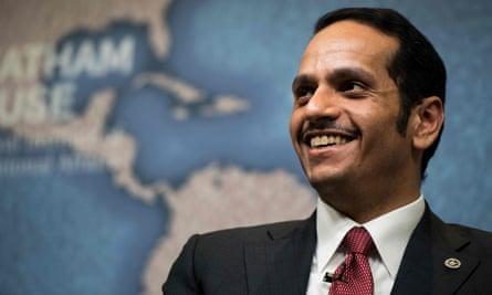 Mohammed bin Abdulrahman al-Thani, the Qatari foreign minister