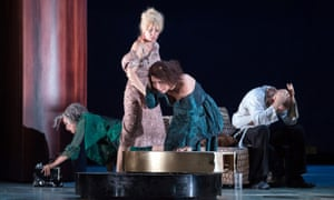 Descent into darkness … The Exterminating Angel at the Salzburg festival last year.