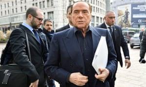 'The boot of Europe remains the Achilles heel of the European Union.' Silvio Berlusconi, president of Forza Italia, on Tuesday.