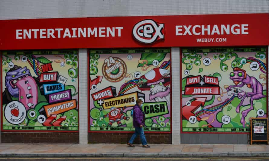 CeX is one of a handful of second-hand goods stores still on the high street that has a range of used smartphones both in-store and online.