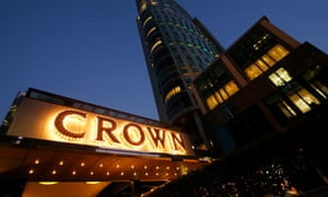 The outside of Crown Casino in Melbourne, Australia. Victoria's opposition has joined with public health experts to call for the casino to shut during the coronavirus crisis.