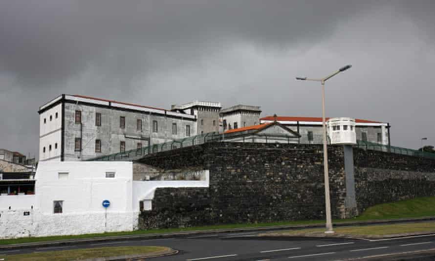 The prison in Ponta Delgada, Sao Miguel, Azores