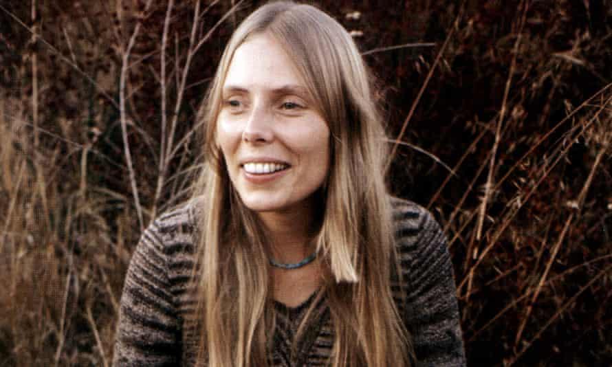 Joni Mitchell in 1971.