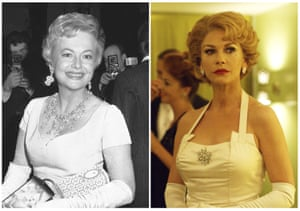 Olivia de Havilland (left) is portrayed by Catherine Zeta-Jones in Feud: Betty and Joan.