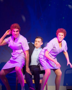 Brett Goldstein, Mathew Horne and Catherine Tate in The Catherine Tate Show Live