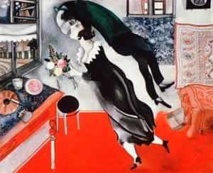 The Birthday, by Marc Chagall.