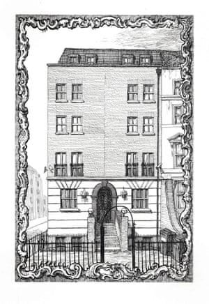 428 Hackney Road by Pablo Bronstein.