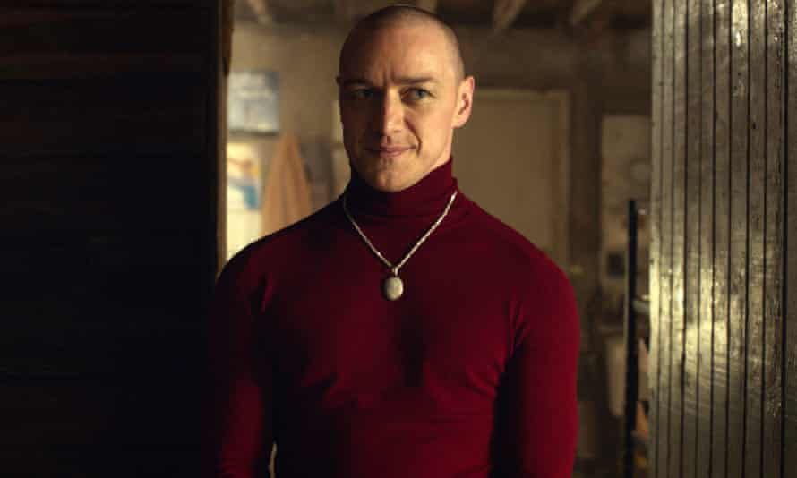 One of many … James McAvoy in Split.