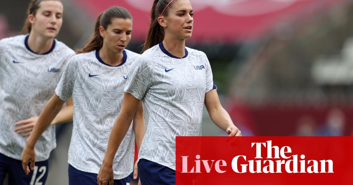 USA v Canada: Tokyo Olympics women's football semi-final – live!
