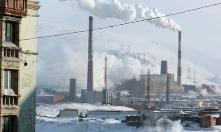 View of Norilsk