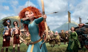 'After Brave and the Hunger Games, the number of women and girls taking up archery has also shot up.'