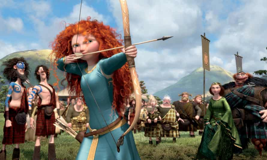 Merida shows what she's made of in Brave