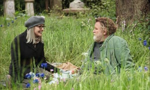 Diane Keaton and Brendan Gleeson in the film