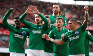 Glenn Murray struck from the spot to give Brighton a 1-1 draw which has left Arsenal's Champions League hopes relying on a huge favour from Spurs.