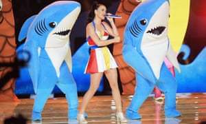 Katy Perry: playful and pop.