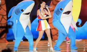 Katy Perry … Insert your own joke about watery conditions.