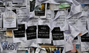 yale race protests