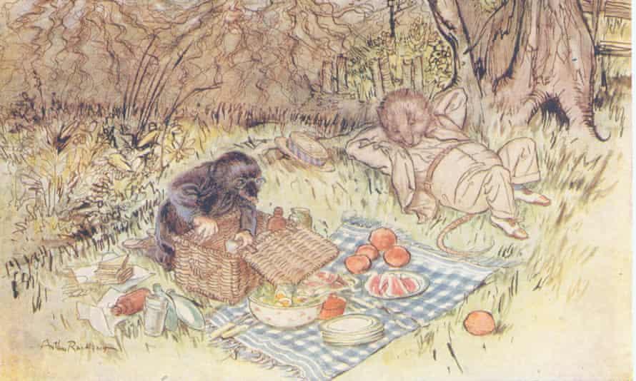 Arthur Rackham Wind in the Willows.