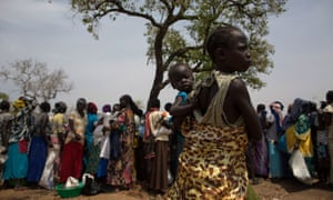 Refugees from South Sudan