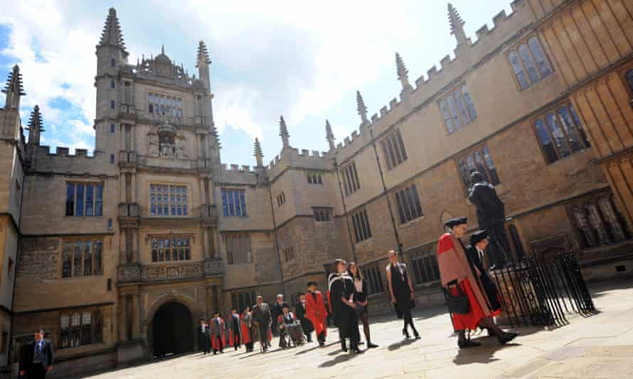 The Quad of the Bodleian Library at Oxford University
