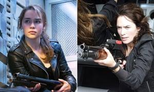 House Connor… Emilia Clarke and Lena Headey both playing Sarah Connor.