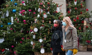 Three different households will be allowed to mix for five days over Christmas from 23 December.