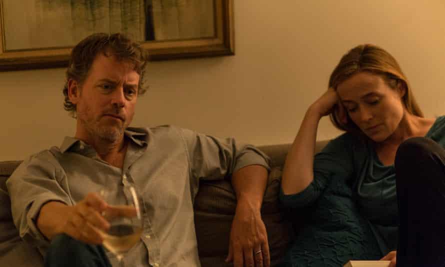Greg Kinnear and Jennifer Ehle in Little Men.