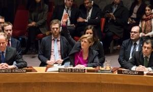 samantha power israel un resolution