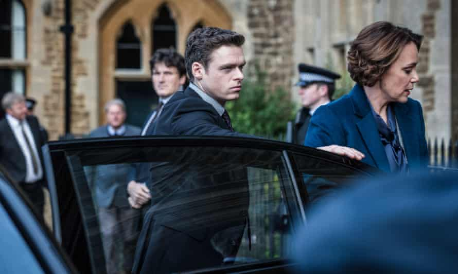 Richard Madden and Keeley Hawes in episode one.