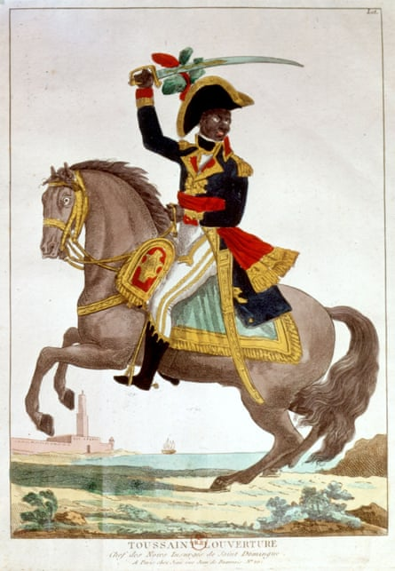Toussaint became a general in the French army.