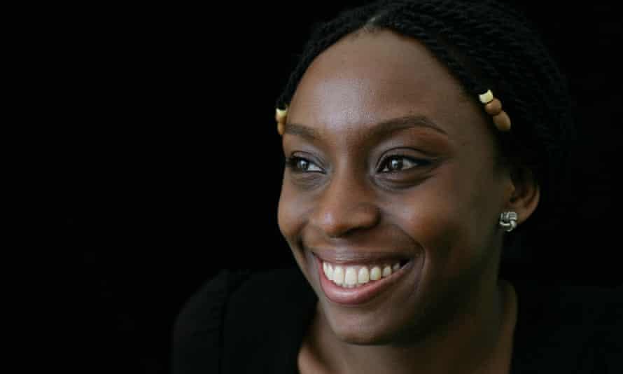 Chimamanda Ngozi Adichie.