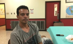 Francisco Ramirez, El Salvadorean asylum seeker in Reynosa, Texas