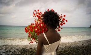 The shore of St Martin is on view in a video by the artist Deborah Jack, who grew up in the area.