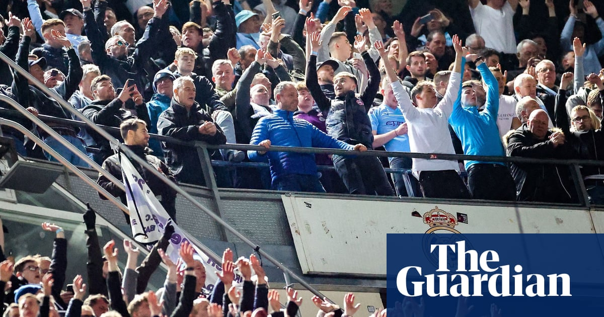 Manchester City revel in sacking of temple of white-shirted aristos   Barney Ronay
