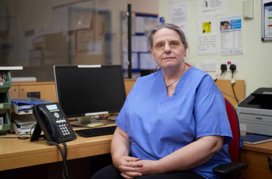 Dr Joan Hoare, a retired GP and former Gwent anaesthetist, volunteered at the start of the pandemic to do whatever she could. She became a key member of the communications team that kept families updated with relatives' progress, freeing other medical staff to concentrate on their clinical work.