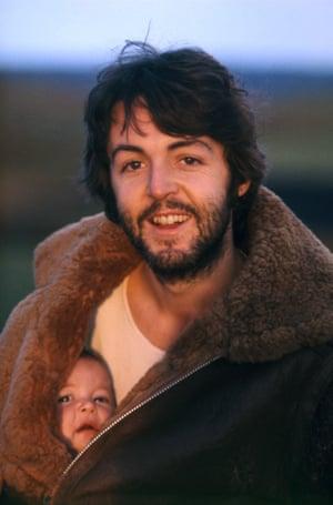 Paul and Mary, Scotland, 1970.