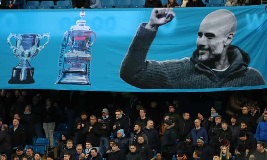 Manchester City have had unprecedented success under Pep Guardiola.