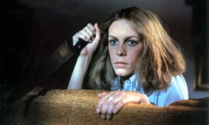 Jamie Lee Curtis in 1978's Halloween