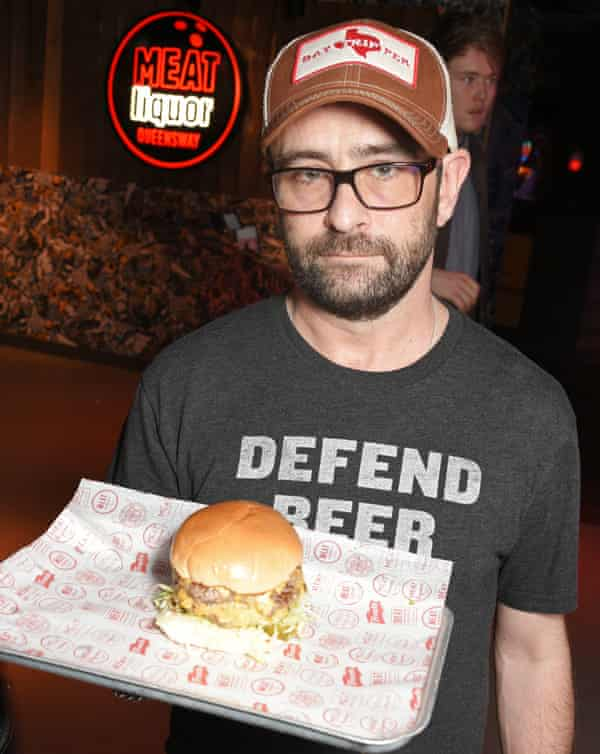 'The best burger I ever ate in the US was at a tiny little diner'... MEATliquor's Yianni Papoutsis. Photograph: Dave Benett/Getty Images