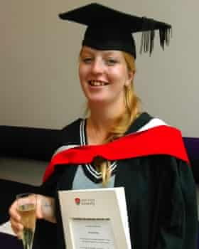 Emily at her graduation