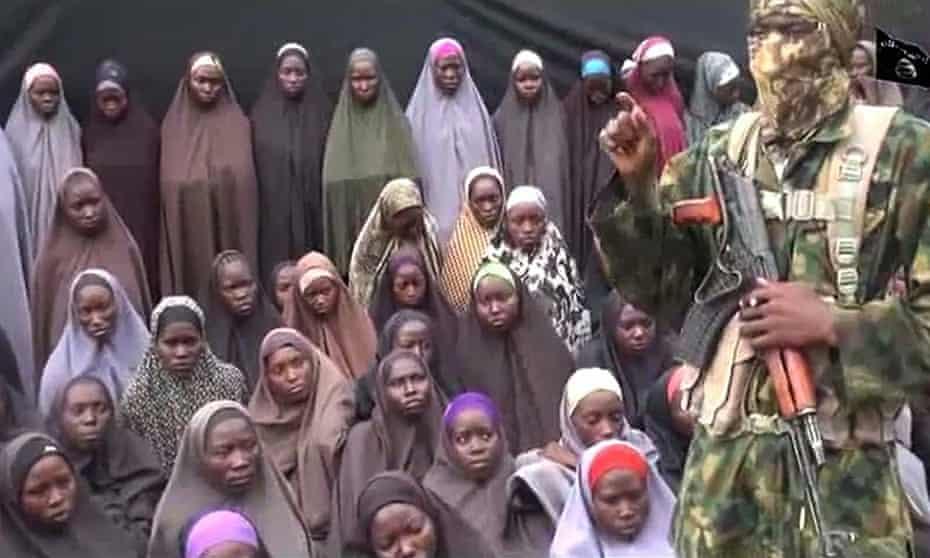 Kidnapped Chibok girls